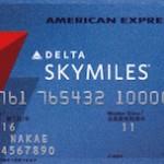 デルタ スカイマイル アメリカン・エキスプレス・カード  デルタ航空で100円で2マイル付与