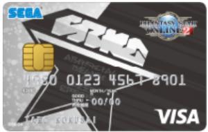 ファンタシースターオンライン2(PSO2)VISAカード