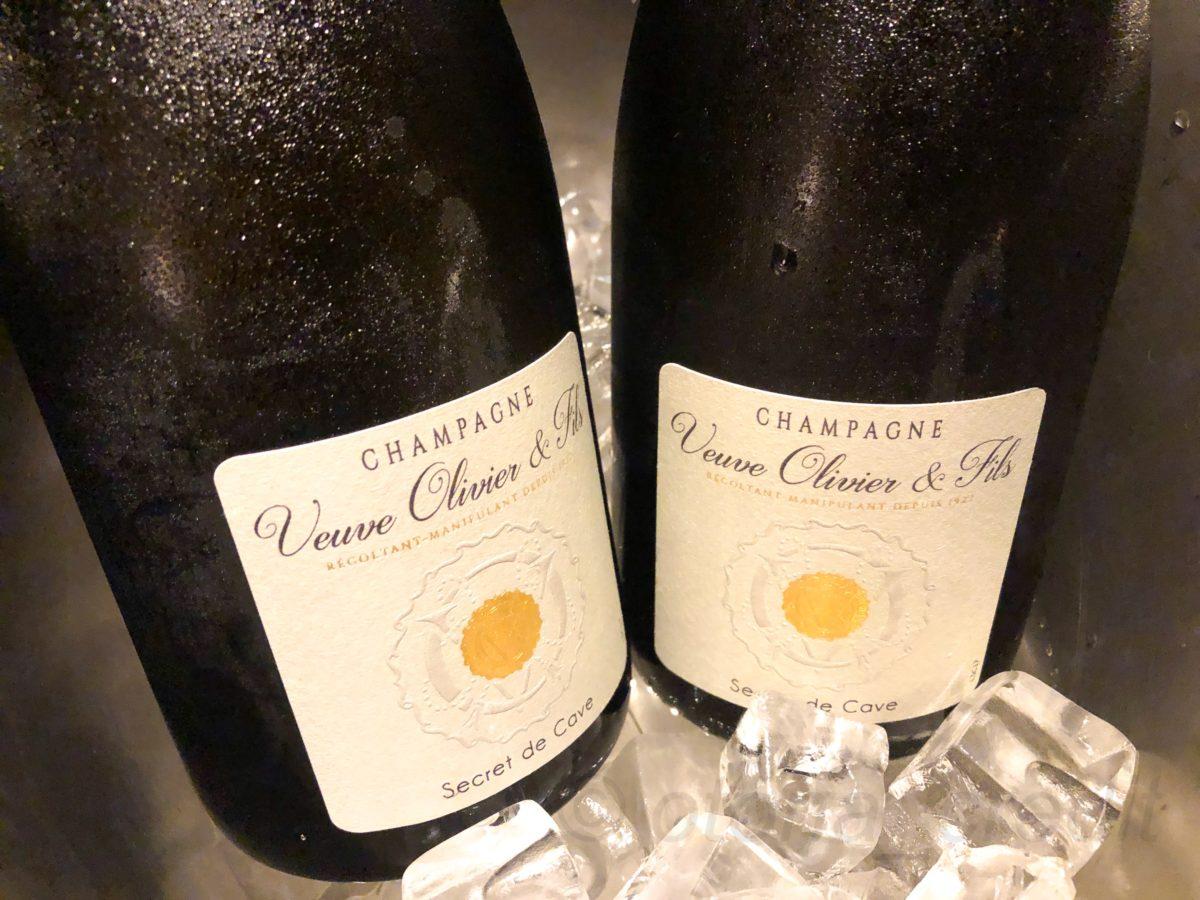シャンパン:ヴーヴ・オリヴィエ セクレ・ド・カーヴ・ブリュット