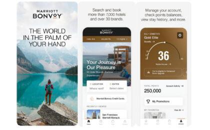 Marriot Bonvoyアプリがリニューアル、アプリからご予約で最安値の確約、モバイルでアメニティの依頼も可能に